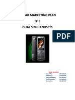 marketing plan Marketing Plan - MBA 437