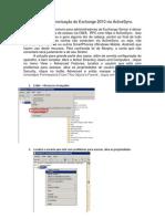 Problemas de sincronização do Exchange 2010 via ActiveSync