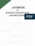 Handbook of Hypnotic Suggestions and Metaphors