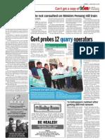 thesun 2009-04-24 page06 govt probes 12 quarry operators