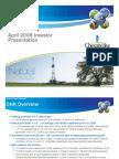 Chesapeake Energy April 2009 Presentation