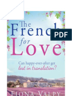 The French for Love Fiona Valpy - FREE Extract