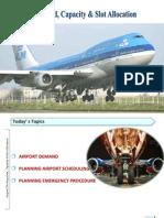 Airport Demand1,capacity and slot allotment.