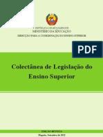 Colectânea de Legislacao dop Ensino Superior