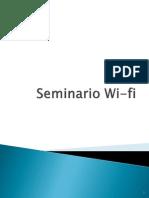Seminario Redes Wifi