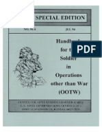 handbook for soldiers