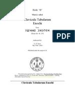 Clavicula Tabularum - H.€´.O.€´.G.€´.D.€´.