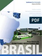 Nova fábrica Sumitomo Brasil