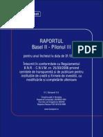 Bancpost SA Raport Basel II Pillar3 RO 2011