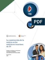 La construcción de la  noticia en los  noticieros rosarinos  de TV
