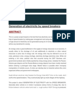 essay on load shedding in energy crisis electricity  generation of electricity by speed breakers