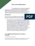 Administacion Empresarial Alvaro Carrasco
