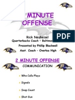 2 Minute Drill Offense