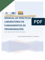 Manual de Prácticas de Laboratorio de Fundamentos de Programación