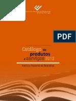 CatalogoProdutosServiços2013
