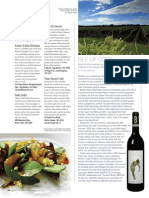 Isle of Cork - Bedell 2010 Merlot in Hamptons Magazine