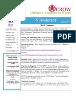 CROW June Newsletter