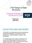 STAAD PRO tutorial