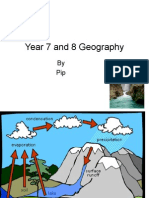 Year 7 and 8 Geography by Pip Rainfall And