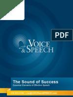 Sound of Success Paper