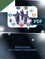 REDES SOCIALES EN EL ÁMBITO UNIVERSITARIO