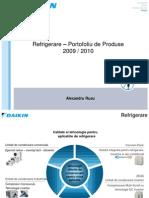 Refrigeration Product Portfolio_2010-RO
