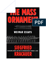 Kracauer, Siegfried - The Mass Ornament (Pg237 - 269)