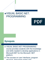Introduction to Visual Basic.net 1