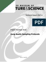 Sampling Protocol