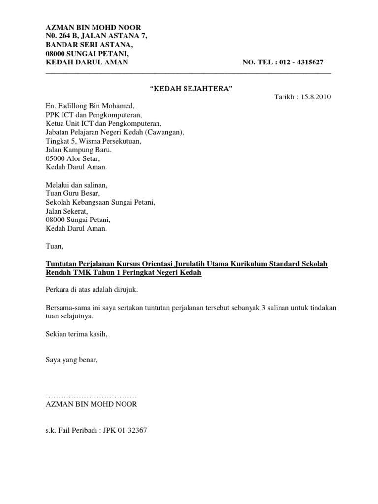 Surat T T Fadillong