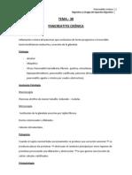 Pancreatitis crónica tema 38
