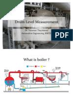 Drum Level Measurement