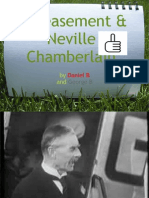 Appeasement & Neville Chamberlain by Daniel B and George