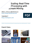Beyond Scaling Real Time Even Processing With Stream Mining