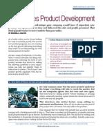 No Excuses Product Development