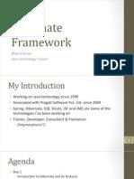 Hibernate Framework 3.x