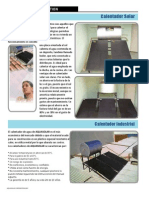 Calentador Industrial Solar