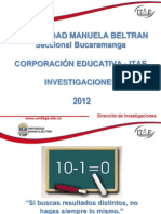 Induccion Investigacion Aula Feb 13