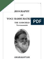 Yogi Ramsuratkumar Biography