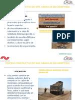 Base Granular, Presentacion