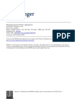 List - Multidimensional Welfare Aggregation