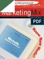 Marketing Mix magazine April/May issue 2007
