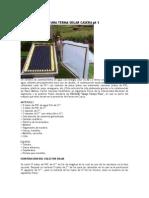 Construccion de Una Terma Solar Casera Pt 1