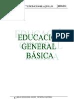 Programa Curricular Institucional 2013-2014 Ciclo Basico Terminado