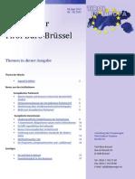 Newsletter Tirol in Europa 5 giugno 2013