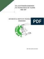 HISTORIA DE LA EXTENSIÓN ENSENADA