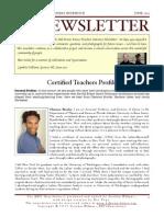 Bill Evans Dance Teachers Intensive Newsletter 2