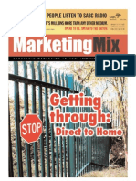 Marketing Mix magazine Nov Dec 2007