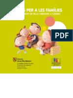 Ajudes per a les famílies pel naixement de fills i menors a càrrec