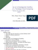 Software libre en la investigación científica en el Perú